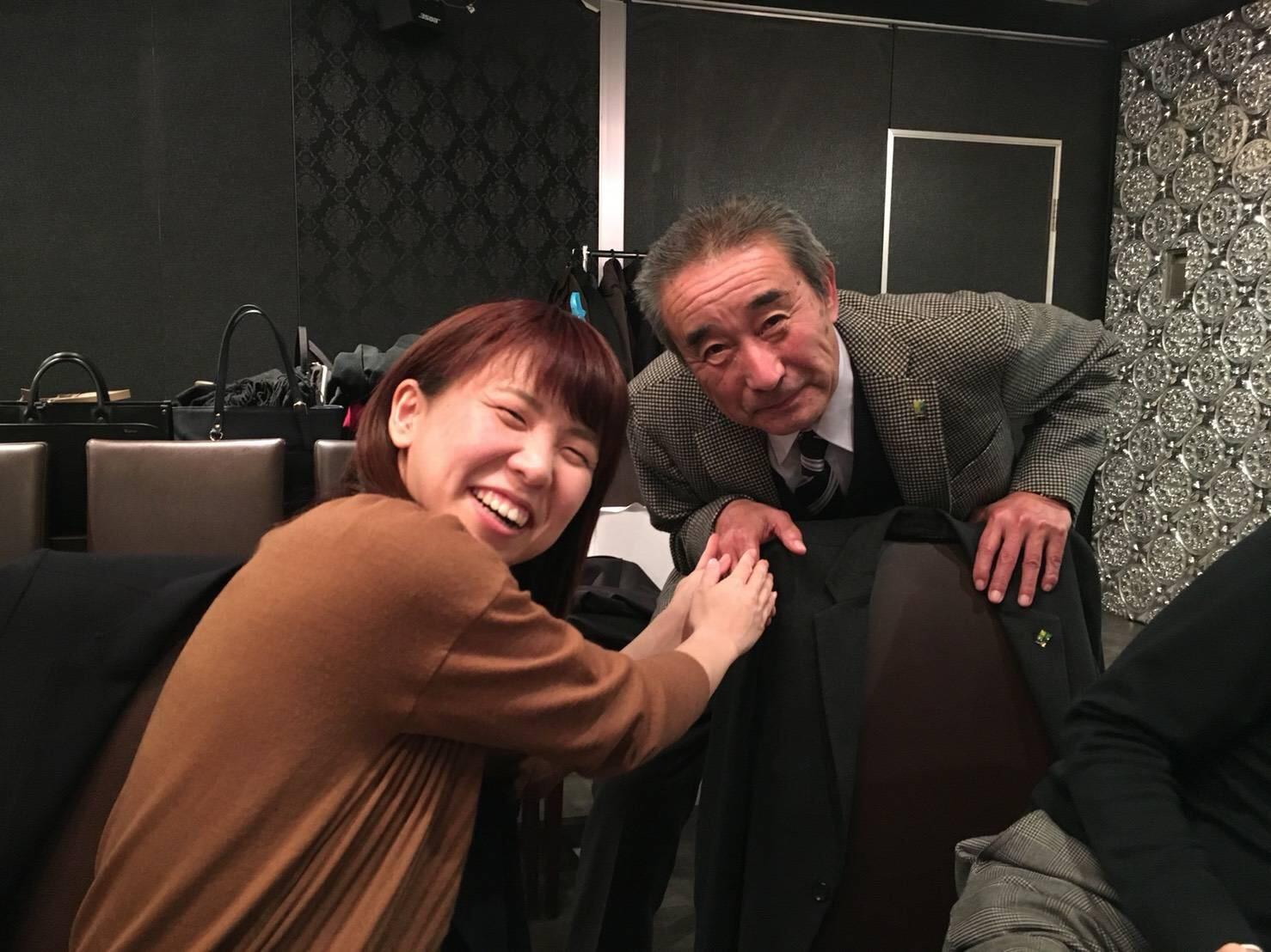 役員さんと記念撮影(^^)